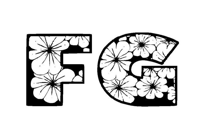 Zensyrom Font poster
