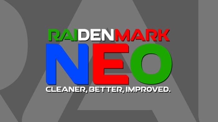 RAI Denmark Neo Font poster