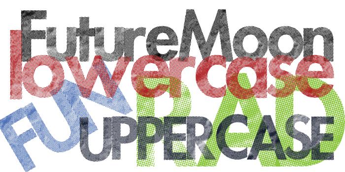 Futuremoon Font poster