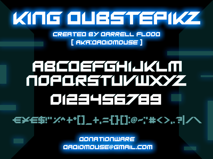 King Dubstepikz Font