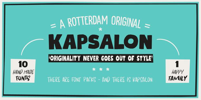 Kapsalon DEMO Font poster