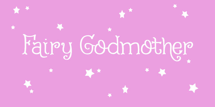 Fairy Godmother DEMO Font poster