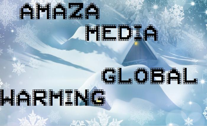 AMAZA MEDIA Font poster