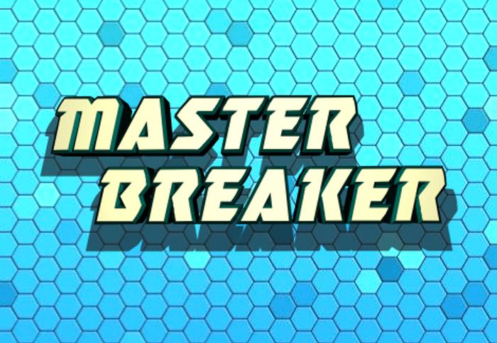 Master Breaker Font poster