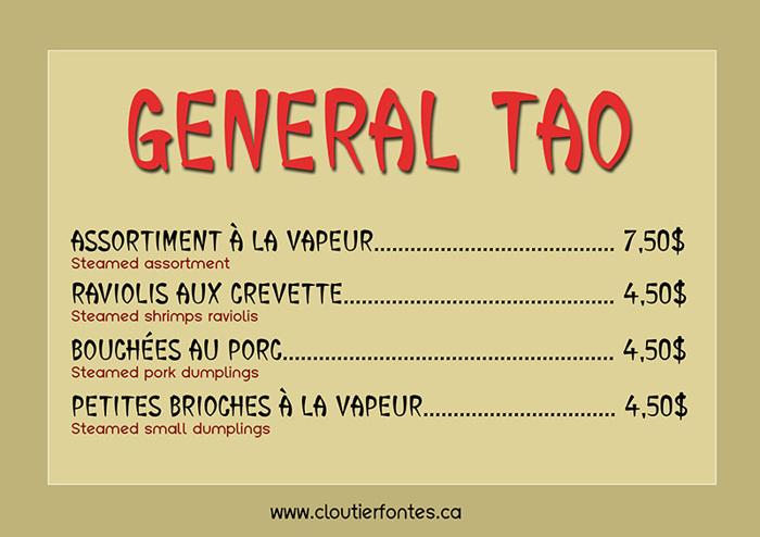 CF General Tao Font