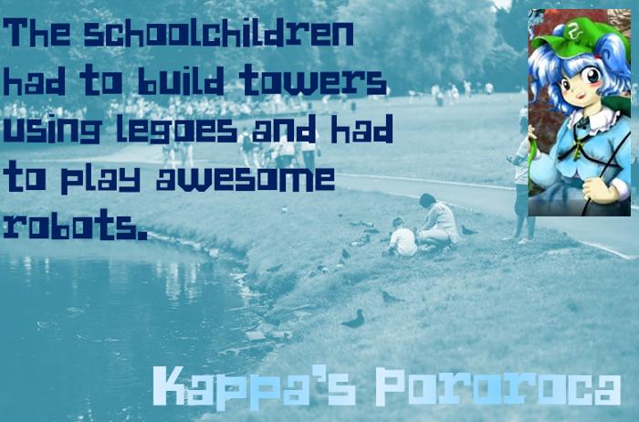 Kappa's Pororoca Font poster