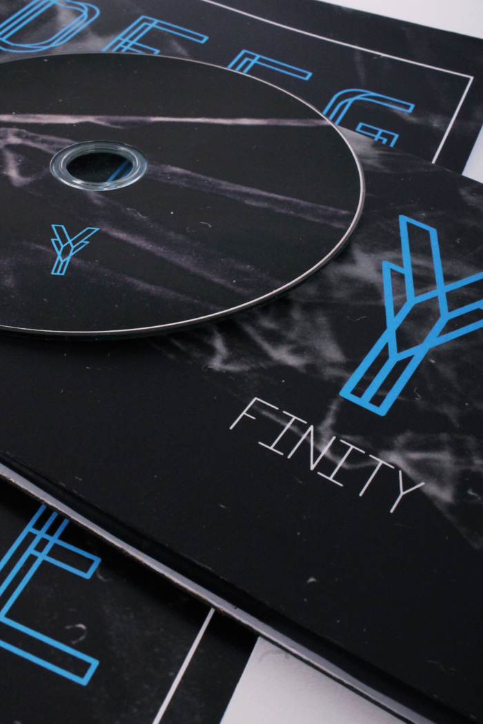 Finity Font poster
