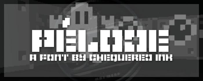 Pelode Font poster