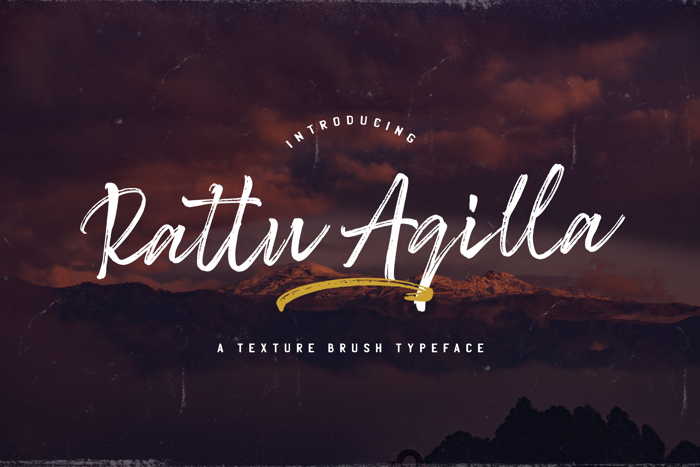 Rattu Aqilla Font poster