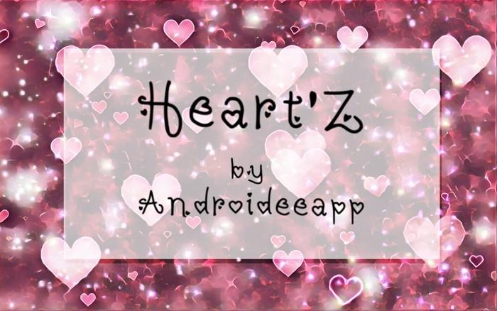 Heartz Font poster
