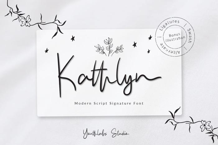 Kathlyn Font poster
