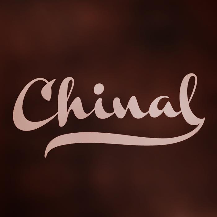Chinal Font poster