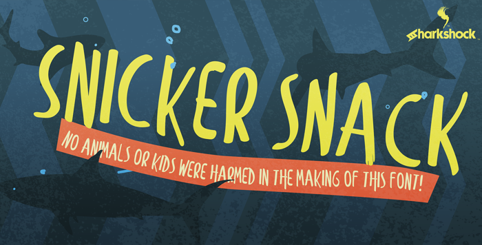 Snicker Snack Font