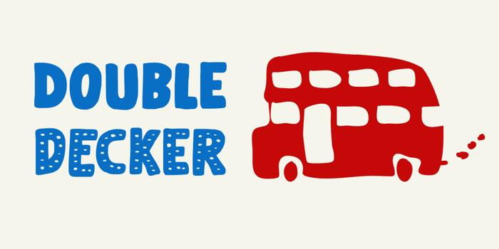 Doubledecker (Demo) Font poster