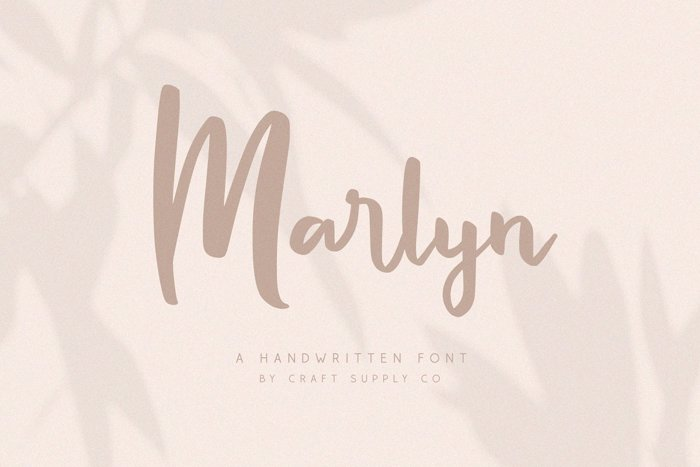 Marlyn Font poster