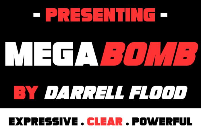 Megabomb Font