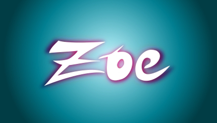 ZOE Graphic Font poster