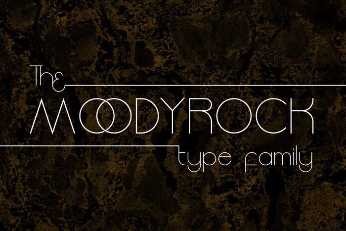 Moodyrock Font