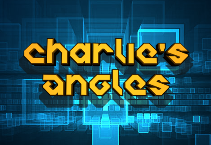 Charlie's Angles Font poster