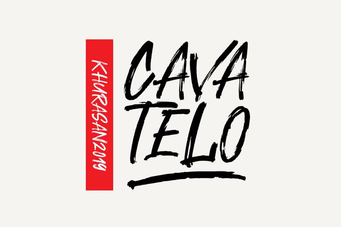 Cavatelo Font poster
