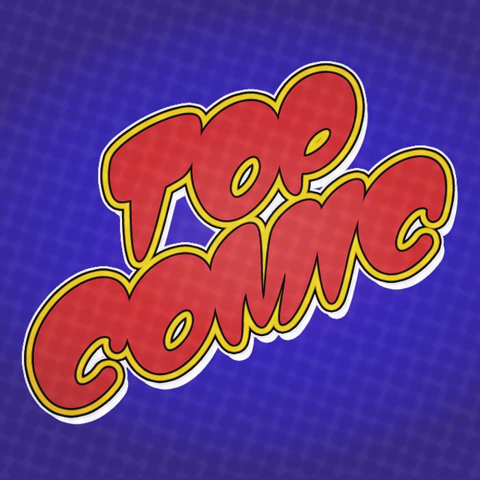 Top Comic Font poster