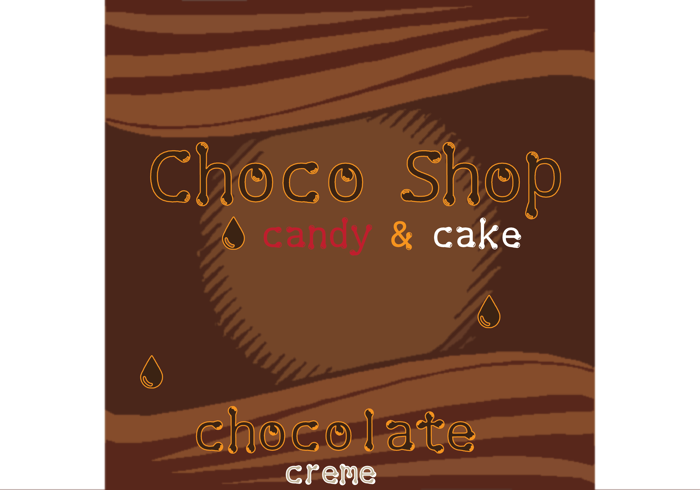 Choco Shop Font poster