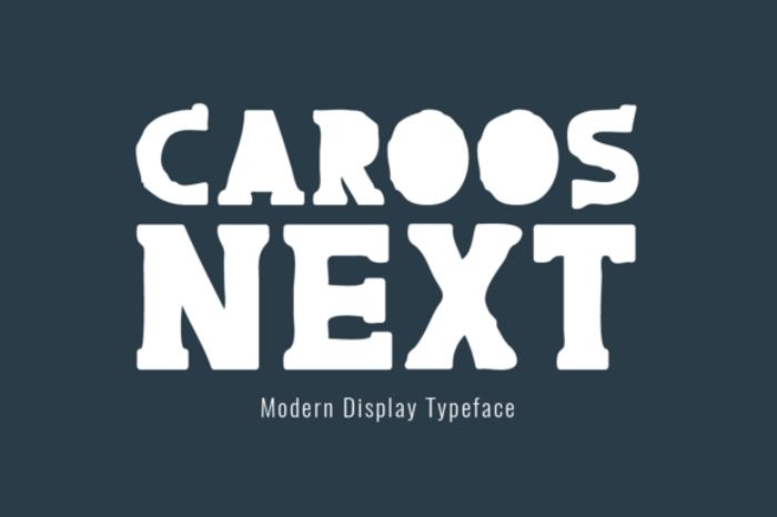 Caroos Next Font poster