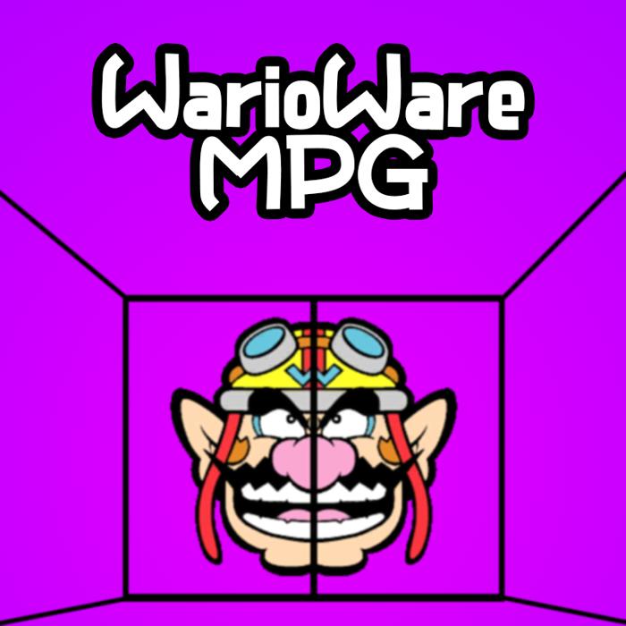 WarioWare MPG Font poster