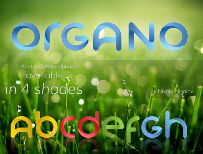 Organo Font
