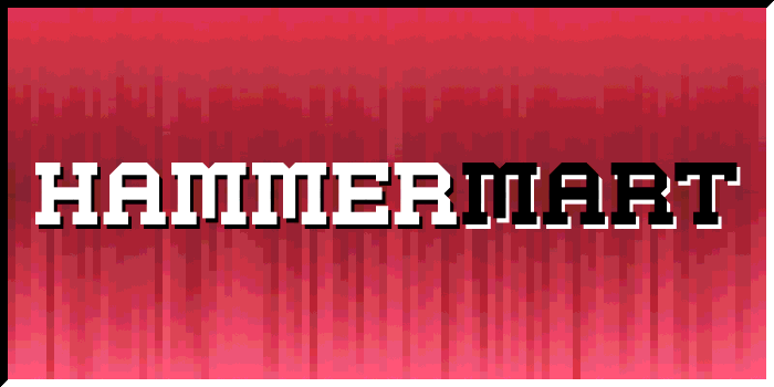 Hammermart Font poster