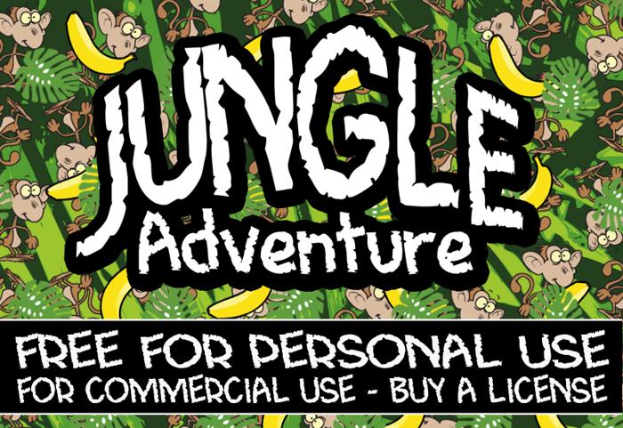 CF Jungle Adventure Font poster