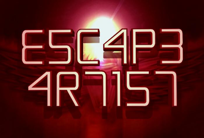 Escape Artist Font poster