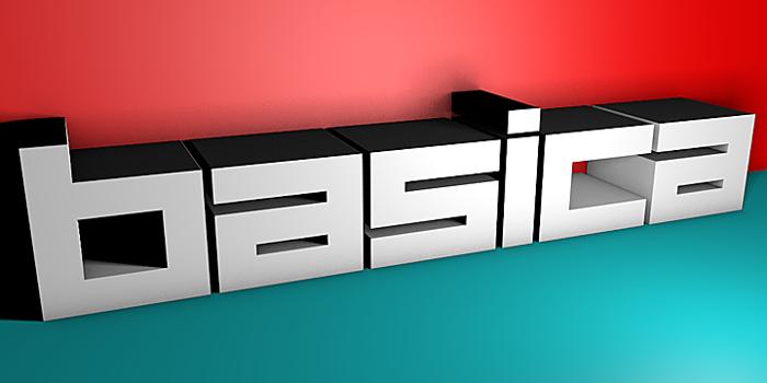 Basica v.2012 Font poster