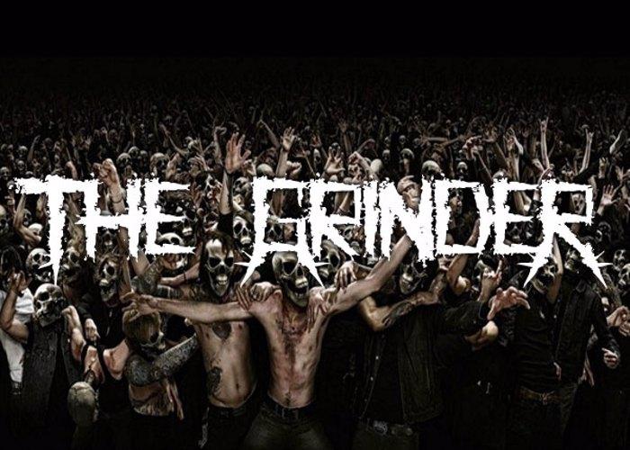 The GrindeR Font poster