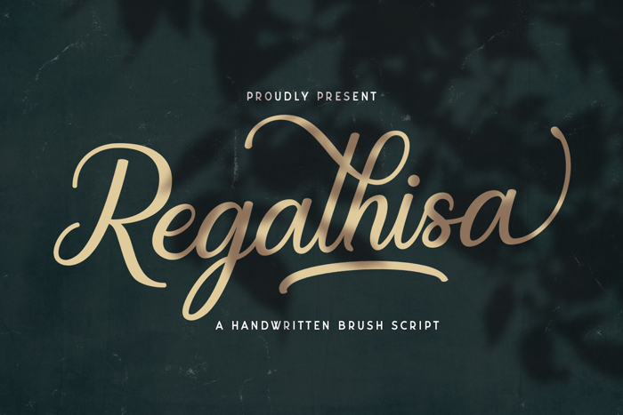 Regalhisa Font poster