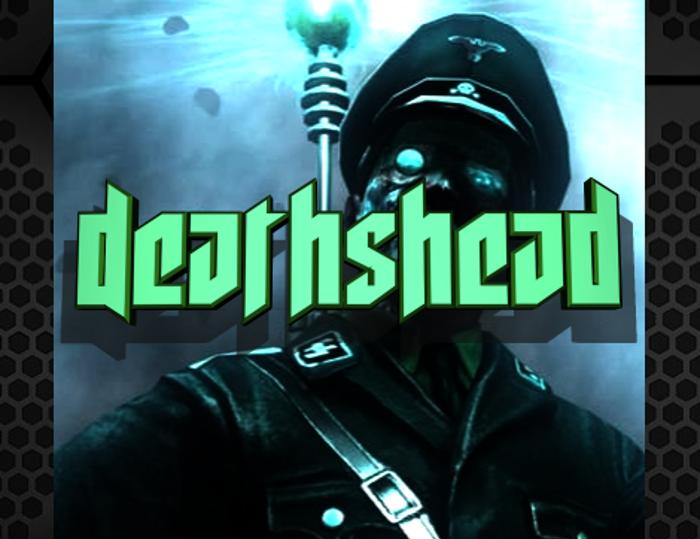 Deathshead Font poster