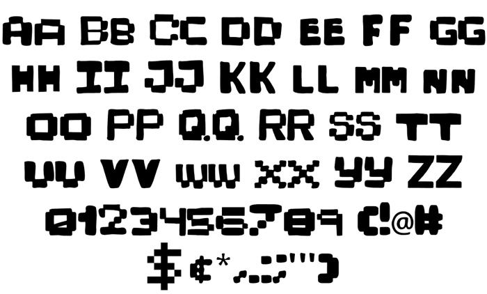 KidPixies Font poster
