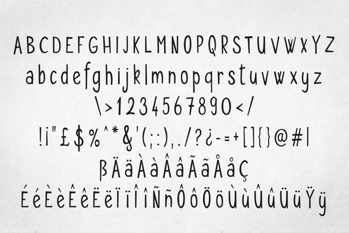 Seryfan Font poster
