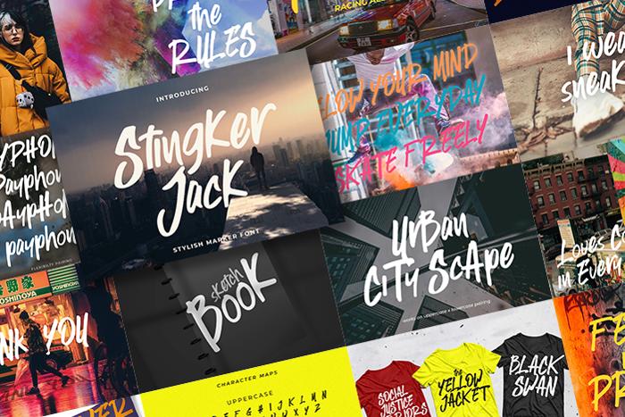 Stingker Jack Font poster