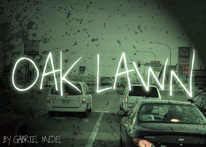 Oak Lawn Font poster