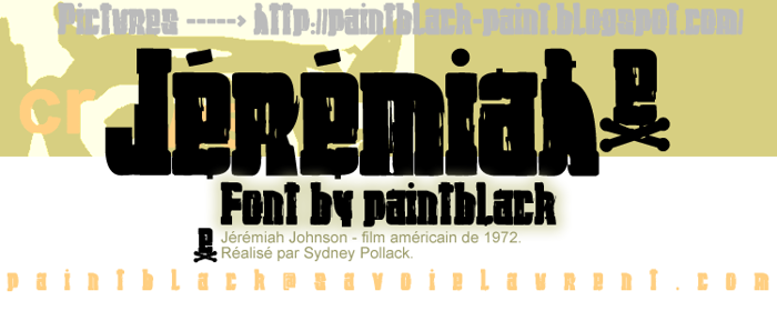 Jeremiah Font poster