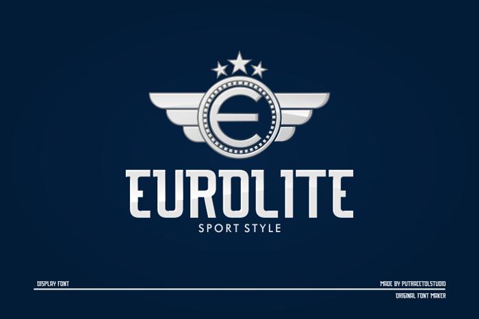 EUROLITE Font poster