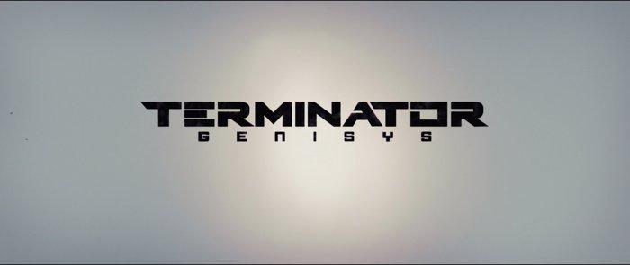 Terminator Genisys Font poster