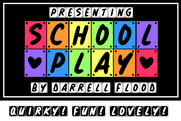 School Play Font poster