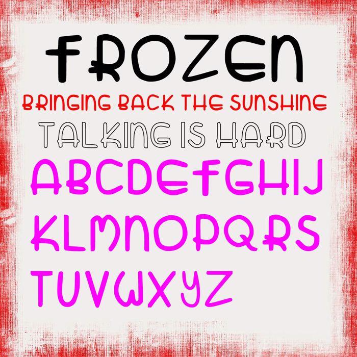 Zatari Font poster