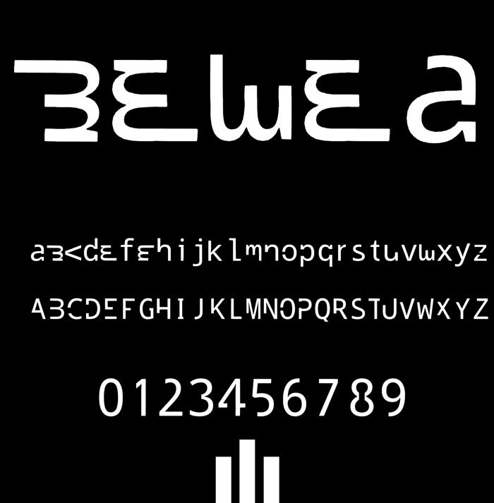 bewea Font poster