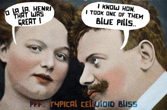 Celluloid Bliss Font poster