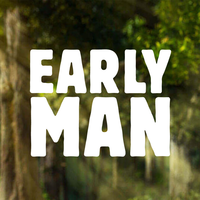 Early Man Font poster