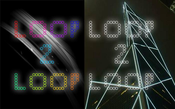 Loop to Loop Regular Font poster