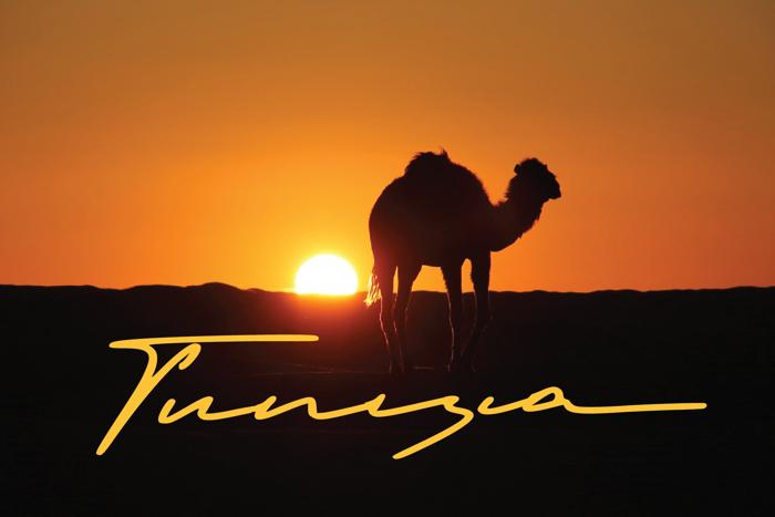 Tunisia Font poster